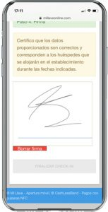 check in online hoteles